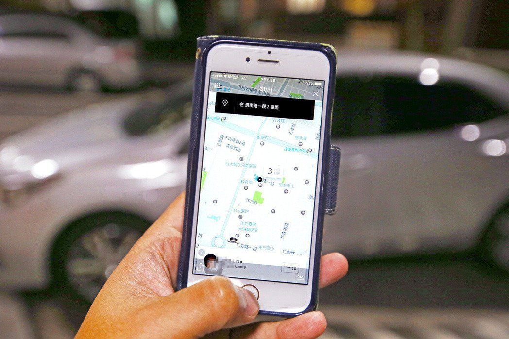 Uber。聯合報系資料照