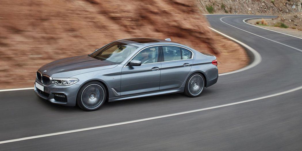 BMW 5-Series。 圖/BMW提供