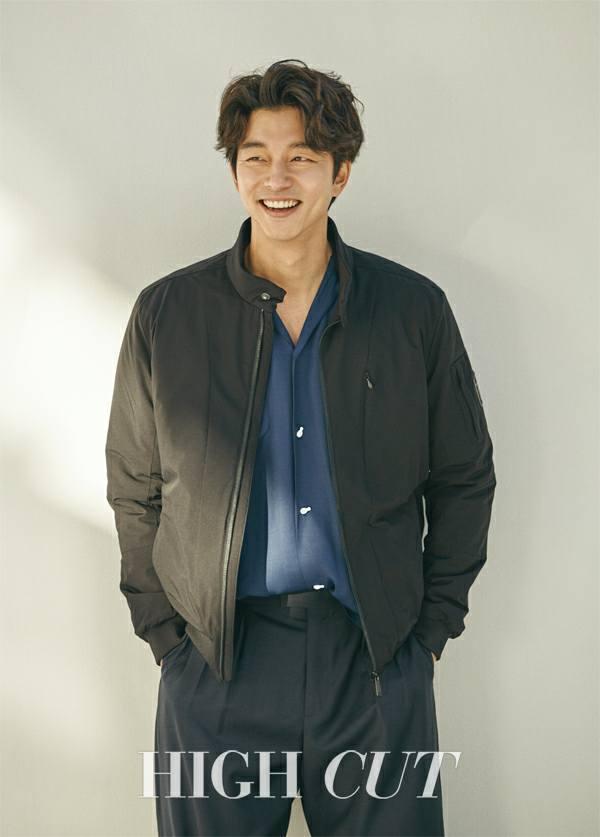 孔劉成為High Cut雜誌最新一期封面人物,展現不同於高富帥造型的時尚魅力。圖