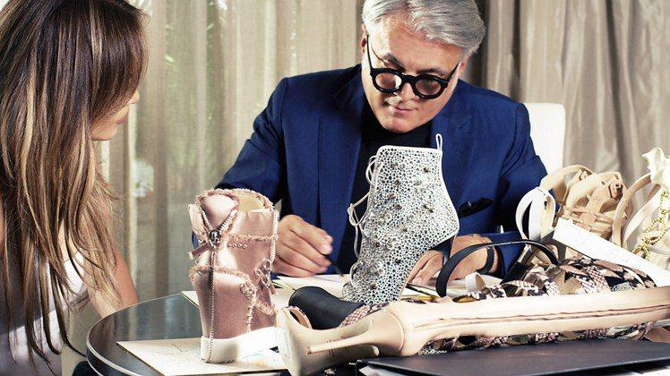 珍妮佛羅培茲偏愛風格華麗的Giuseppe Zanotti高跟鞋。圖/迪生提供高...