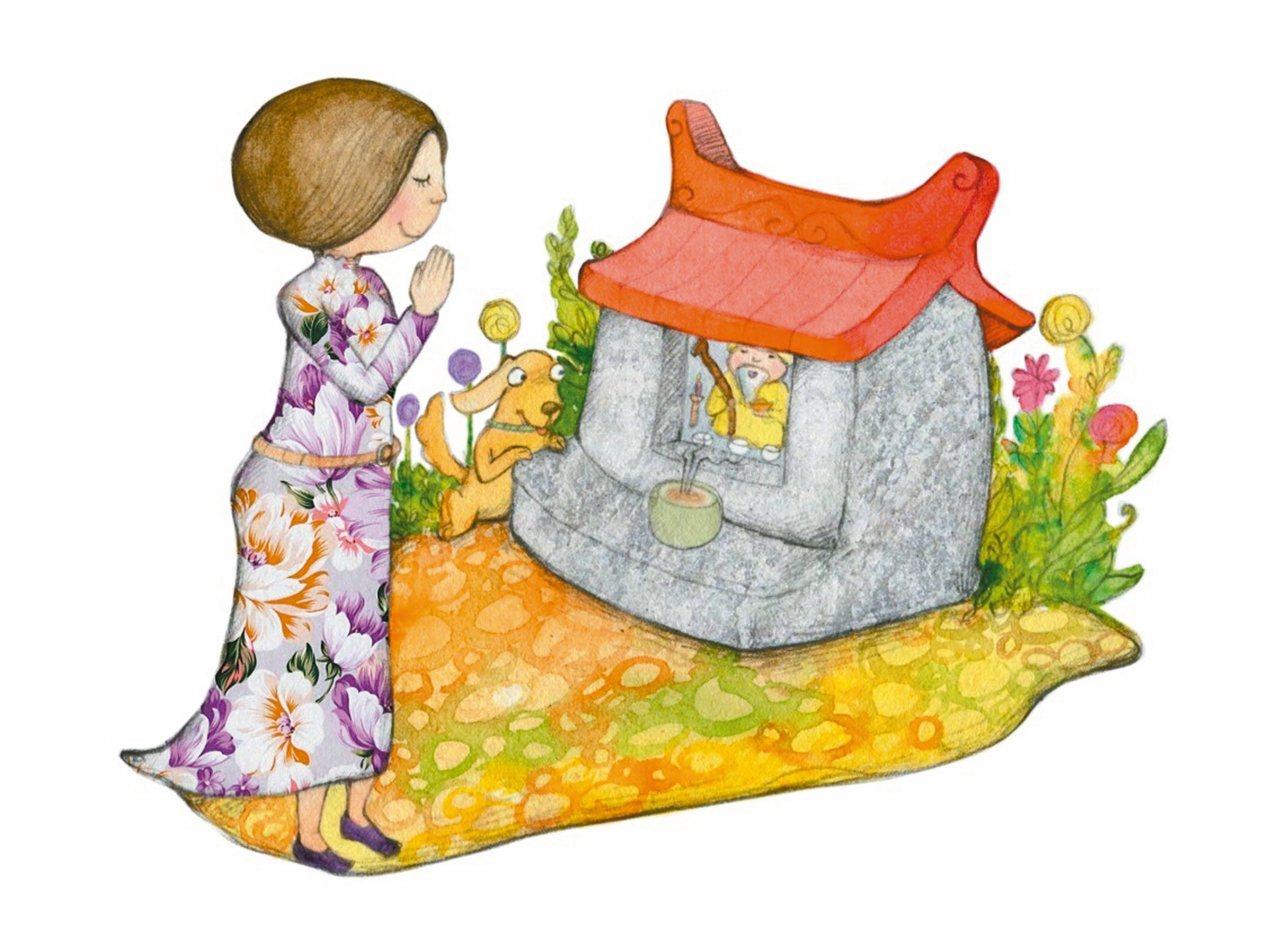 父親舉家自新竹橫山移居到台北時,每逢初一、十五就會到巷口後面的土地公廟拜拜,當時...