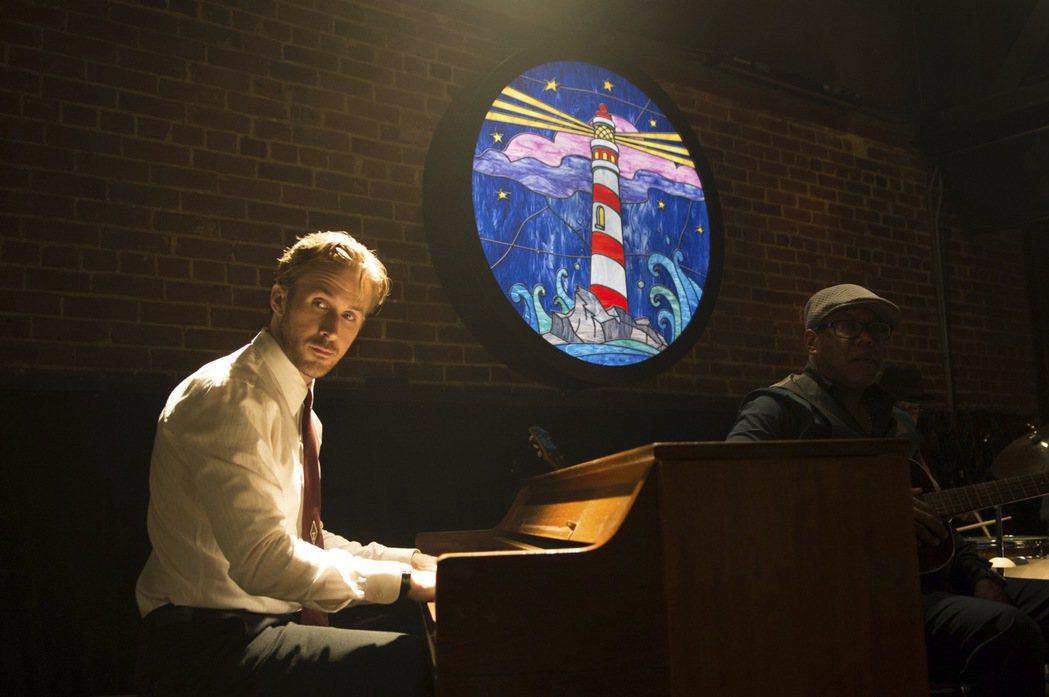 好萊塢男星萊恩葛斯林(Ryan Gosling)在電影「樂來越愛你」(La La