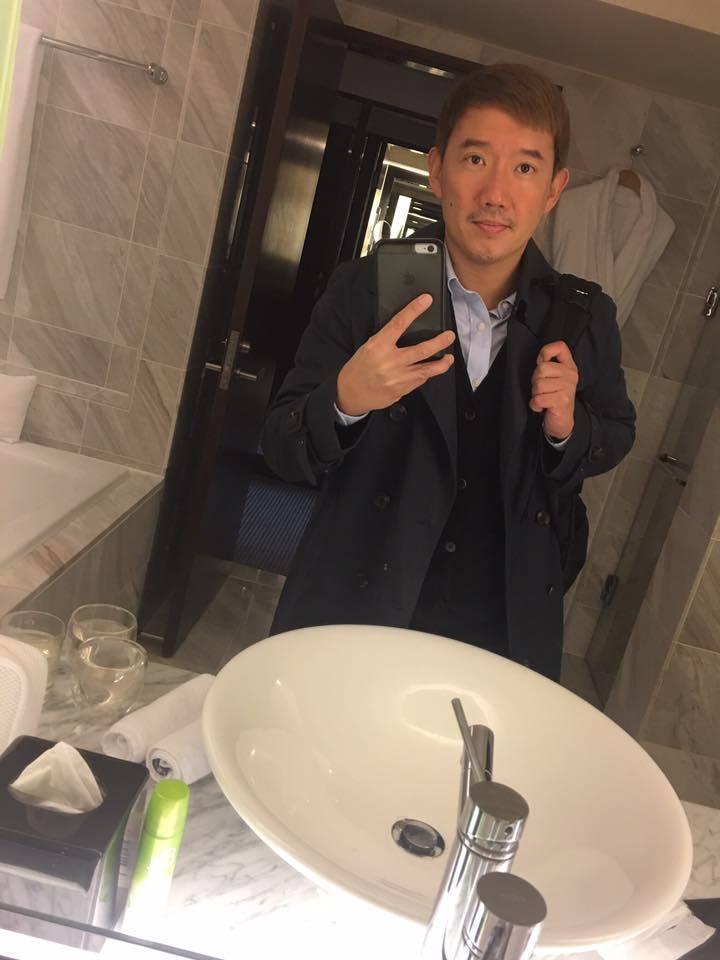 杜汶澤過年期間來台旅遊。 圖/擷自杜文澤臉書