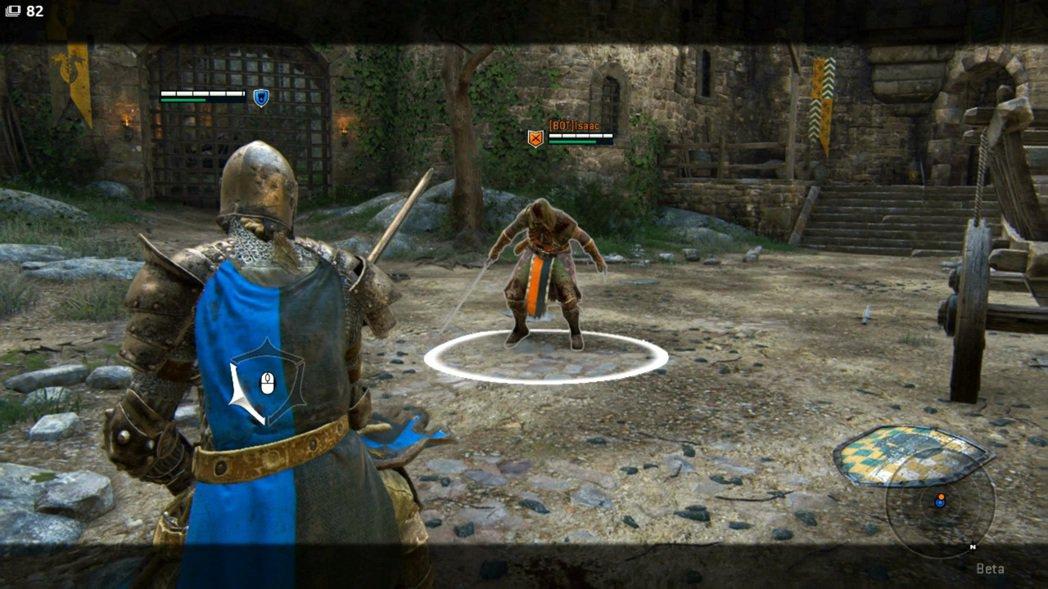 集滿氣的盾牌猛擊可以把敵人推到很遠的地方。