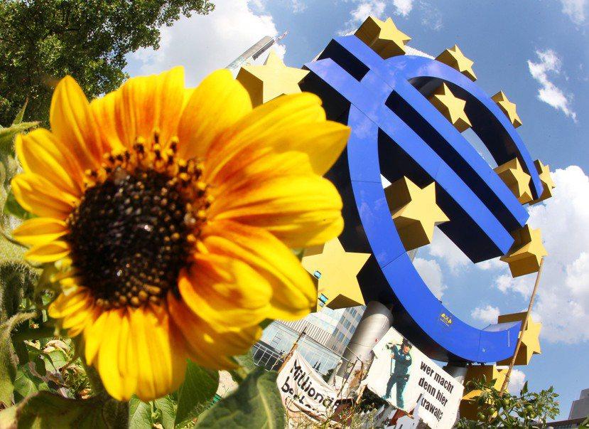 2017年,歐元區的經濟有所好轉了嗎? 圖/美聯社