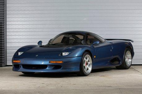一部幾乎被遺忘的 Jaguar 英式超跑 罕見現身拍賣中