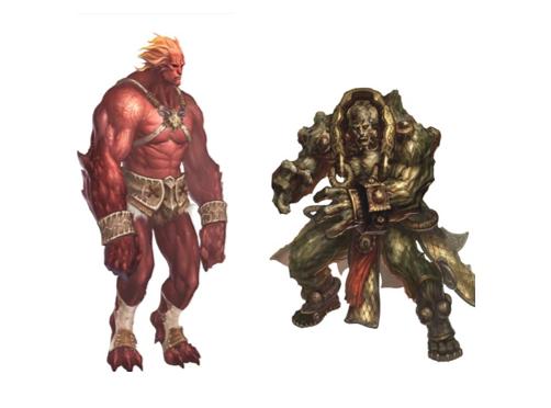 《A4》中的「阿格斯」與「卡昂」是狂戰士阿格斯這角色設定的靈感來源
