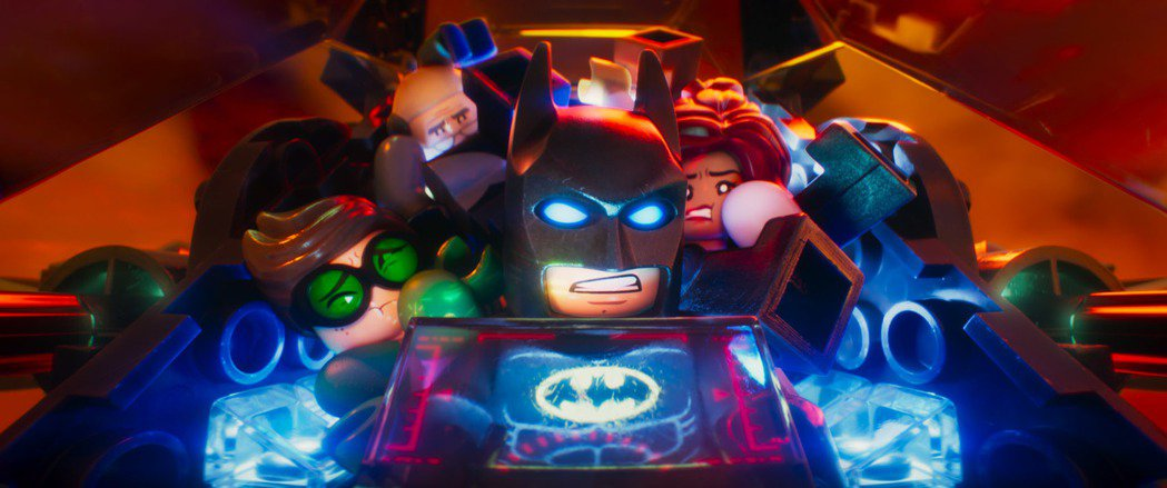 「樂高蝙蝠俠電影」集結蝙蝠俠系列的眾多主要配角及反派們。圖/華納兄弟提供