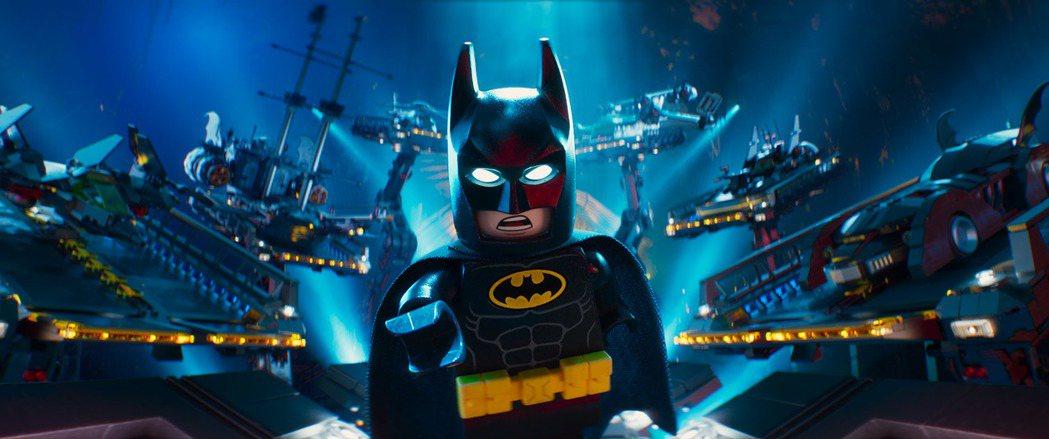「樂高蝙蝠俠電影」展現出蝙蝠俠不為人知的可愛面貌。圖/華納兄弟提供