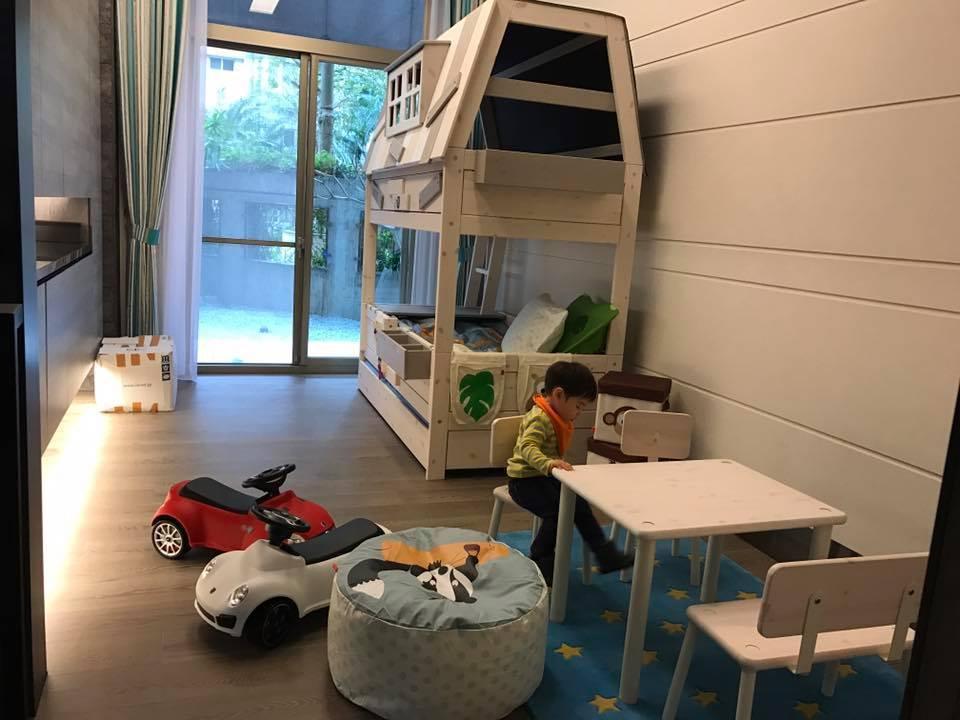 麻衣布置的小孩房。圖/摘自麻衣臉書