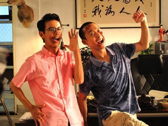 浩角翔起「傻瓜向錢衝」是春節影片台首播強片的收視大贏家之一。圖/衛視電影台提供