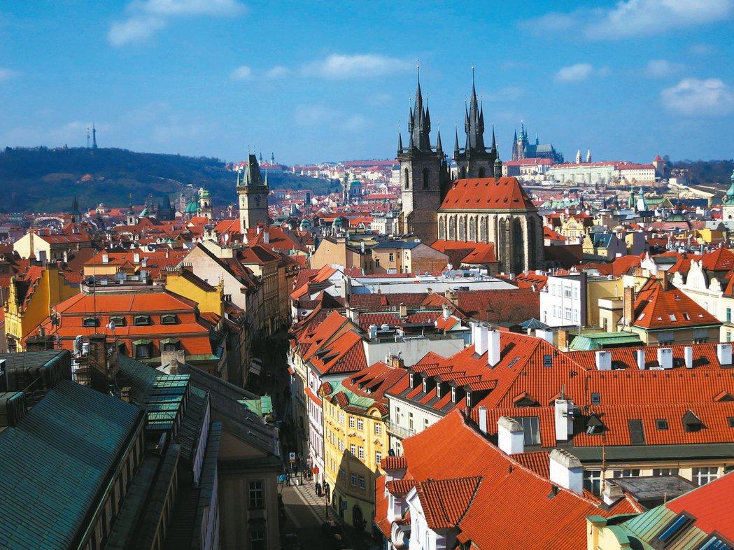 布拉格舊城區。 攝影/李進文