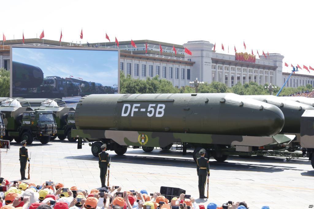 中國試射東風5C型洲際彈道導彈,俄羅斯專家認為,應重新評估中國核武力量發展前景。...