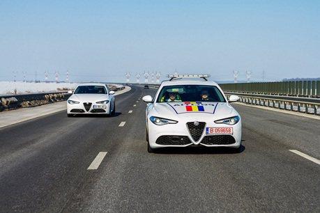 Alfa Romeo Giulia轎跑 加入羅馬尼亞警隊