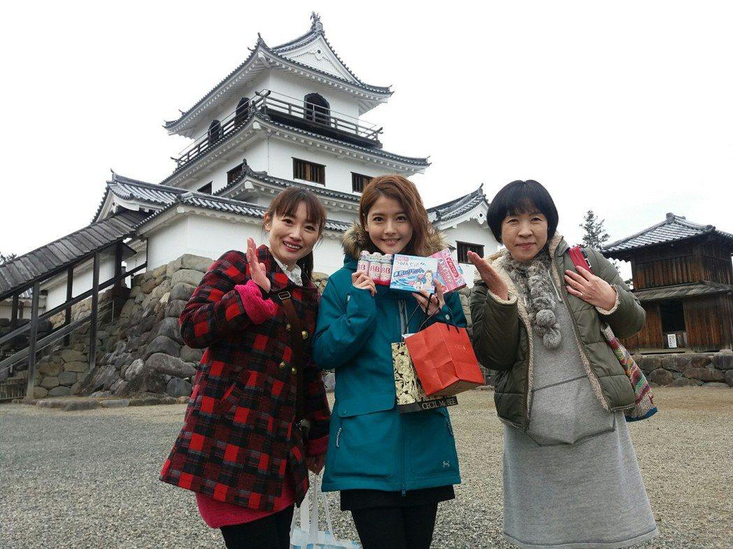 王樂妍到白石城拍戲,日本粉絲清晨7點半就來等候,令她感動到直呼想留下不走了。圖/...