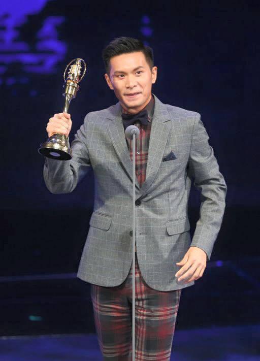 姚淳耀去年獲得金鐘獎肯定。圖/摘自姚淳耀臉書