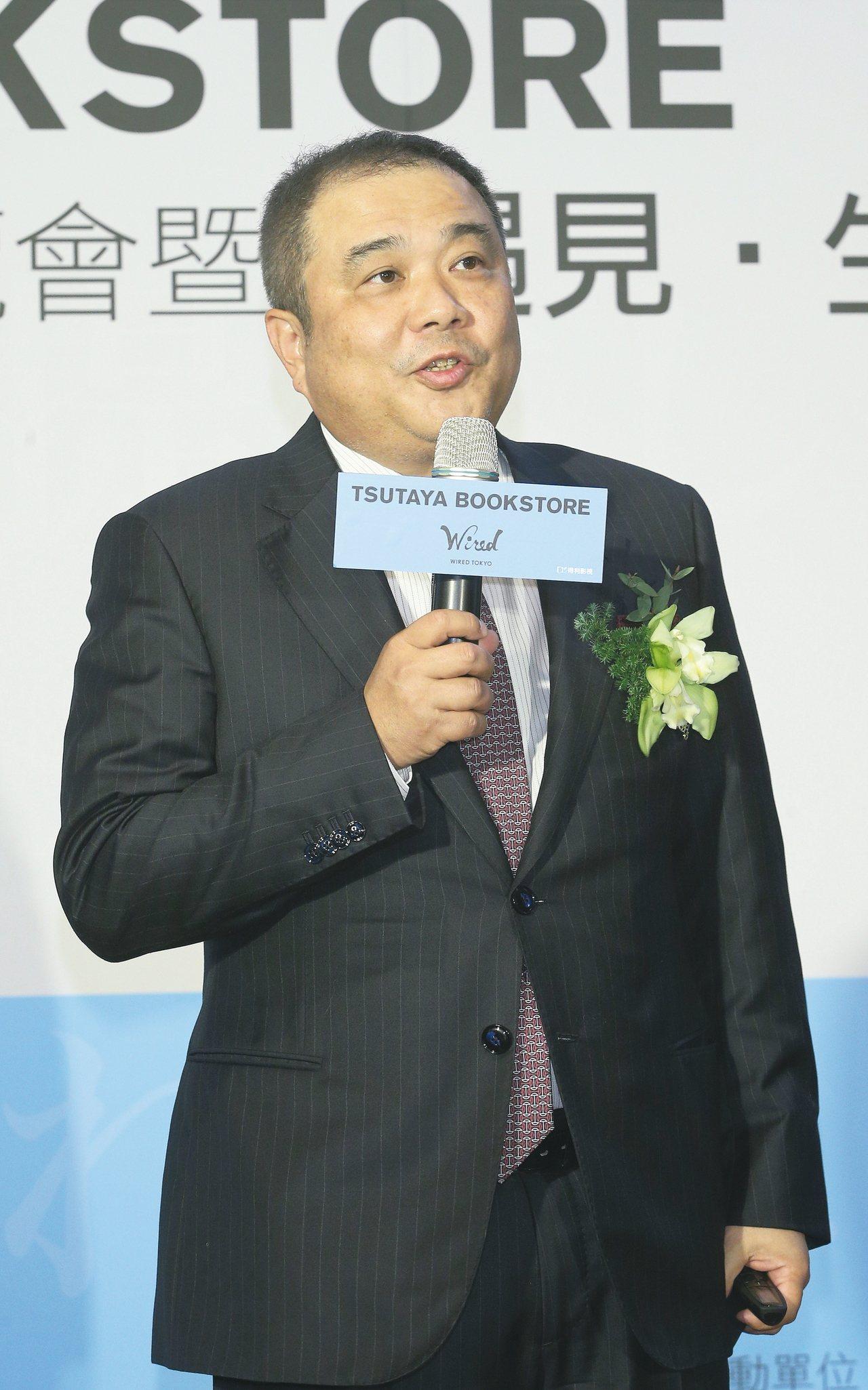 TSUTAYA社長中西一雄 圖/蘇健忠