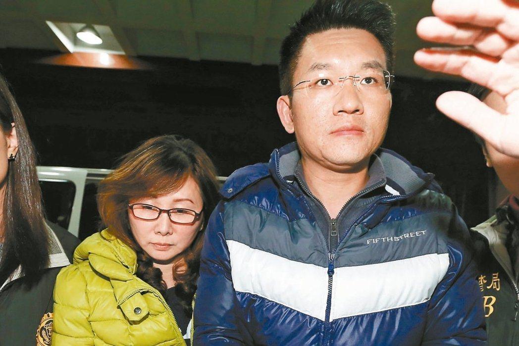 台北市議員童仲彥被爆長期對妻子李秀環家暴。 聯合報系資料照