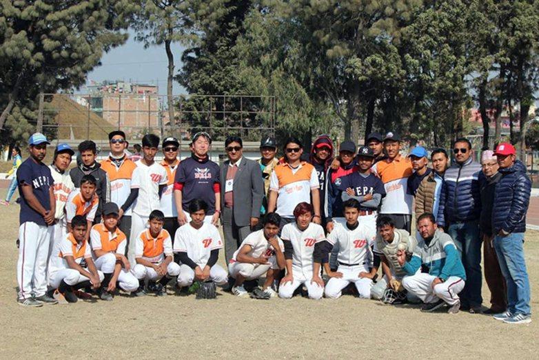 喜馬拉雅山之國尼泊爾,從1999年起至今已有5隻球隊,能打正常聯賽。  圖/取自japan-baseball