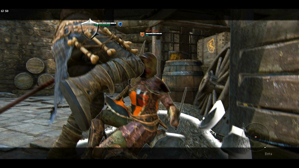 如果破防推出的附近有障礙物,會自動補踢帶擊暈效果。