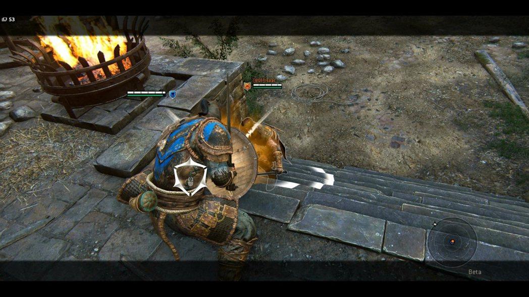 和征服者一樣,督軍也有完全格擋的技能。