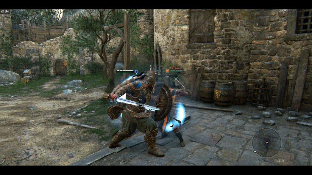 督軍的破防技能,同樣可以將敵人推退到很遠的地方。
