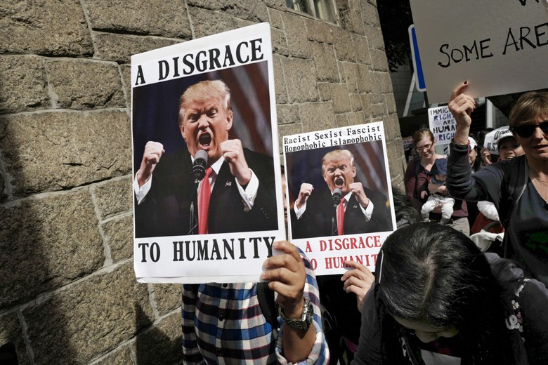 川普上任後,從內閣團隊的組成,到閃電般的簽署各種總統令,來自各方各面的反對聲浪排...