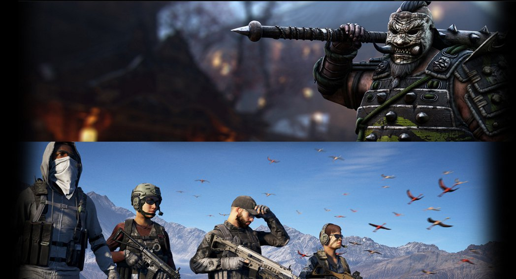 NVIDIA推遊戲同梱包,可在《榮耀戰魂》或《火線獵殺:野境》中2選1。圖/摘自...