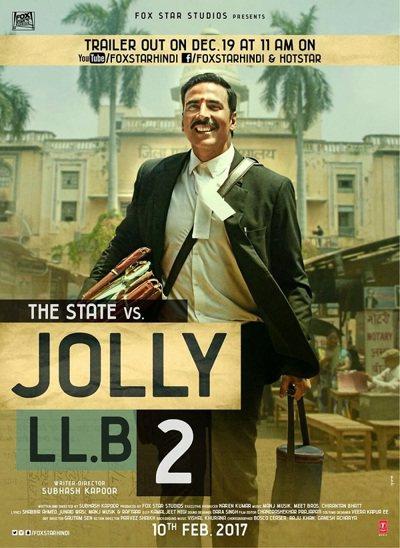 庫瑪(Akshay Kumar)主演的寶萊塢喜劇片「律界新手2」(Jolly L
