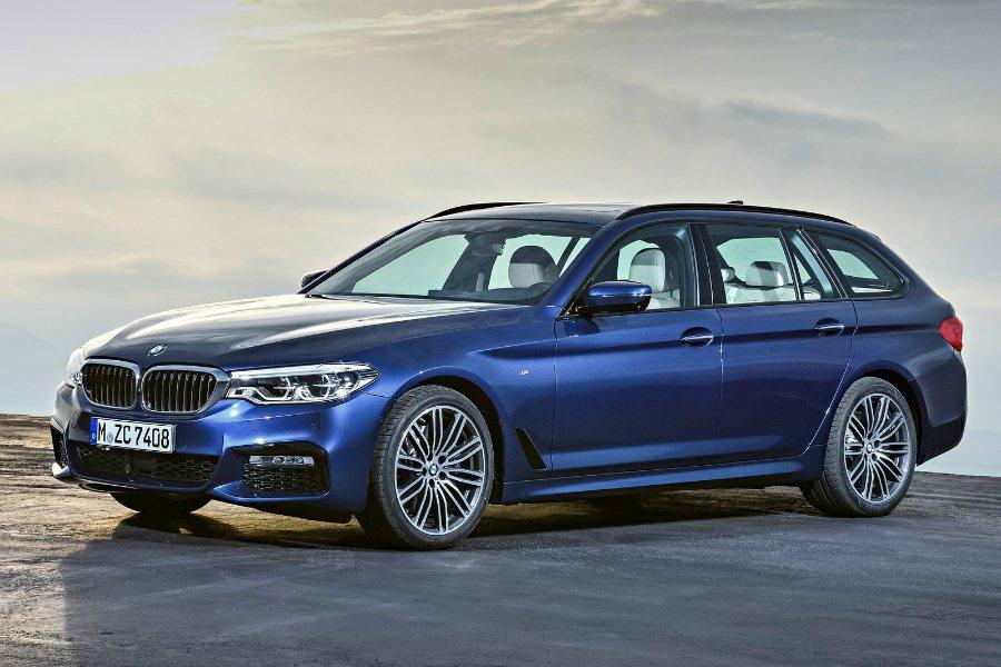 繼先前亮相後,BMW 於近日公佈 5-Series Touring的官方影片。 ...