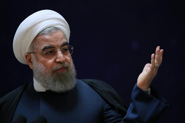 伊朗總統羅哈尼。路透