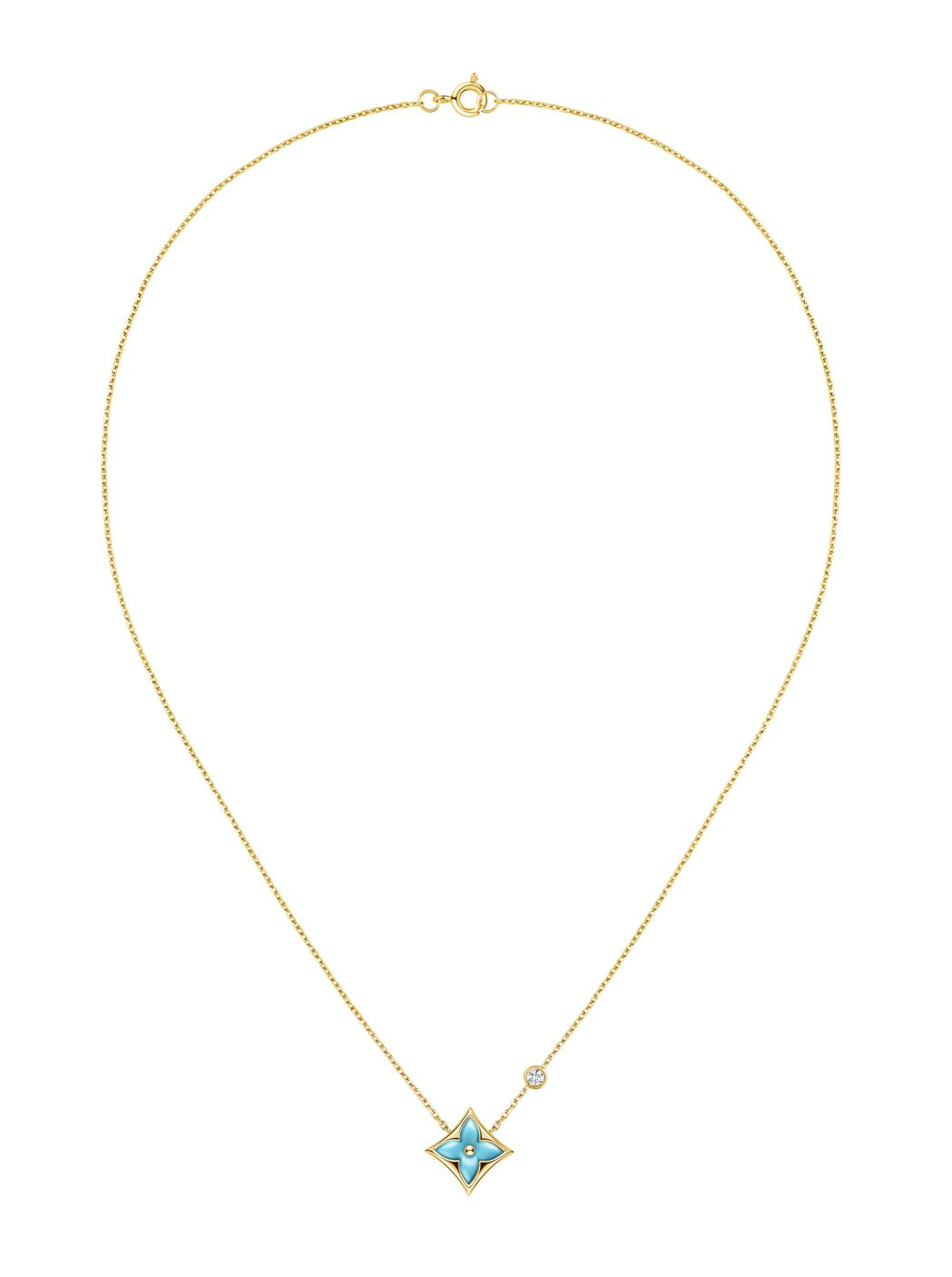 Star Blossom土耳其石項鍊,價格電洽。圖/LV提供