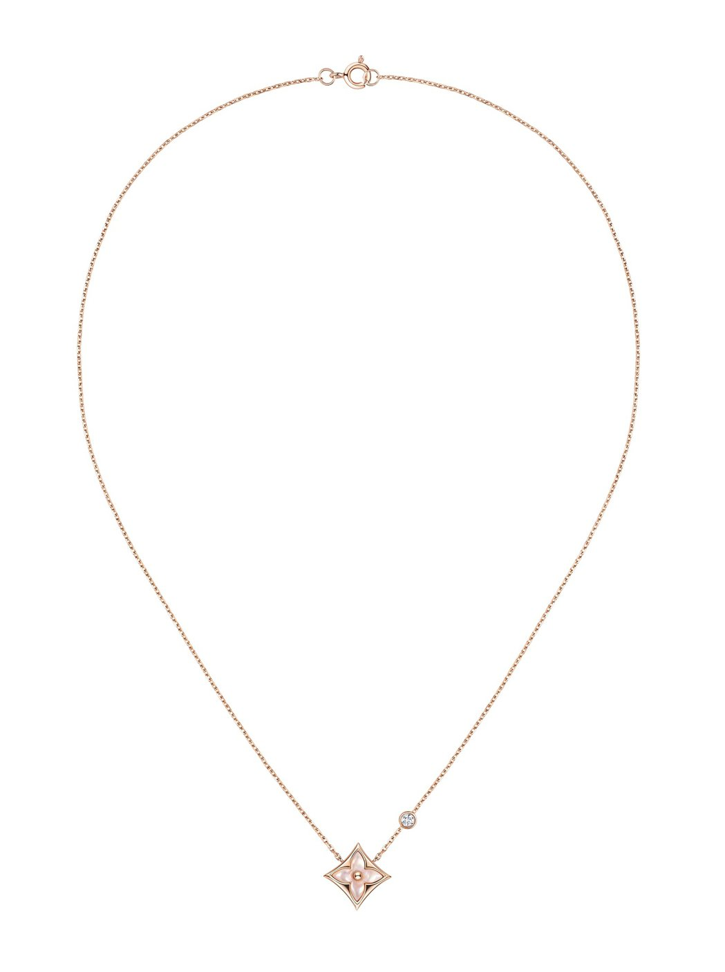 Star Blossom珍珠母貝項鍊,76,500。圖/LV提供