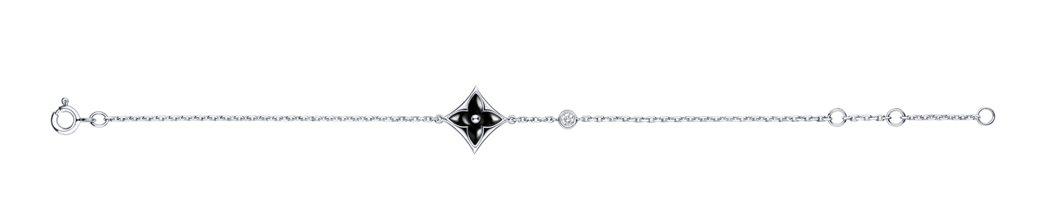 Star Blossom BB縞瑪瑙手鍊,76,500元。圖/LV提供