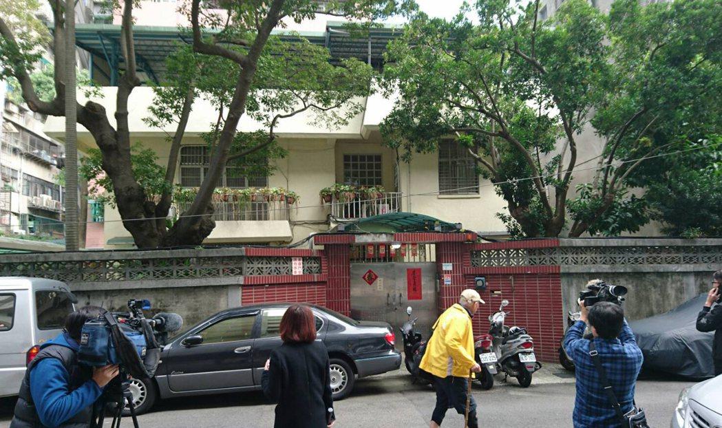 農委會位於臨沂街的主委官舍。記者林俊良/攝影