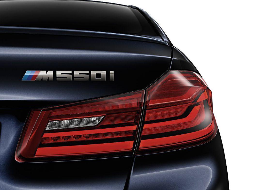 M550i將加入台灣M Performance家族。 圖/BMW提供