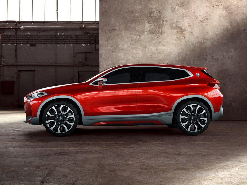 X2有望在今年台北車展亮相。 圖/BMW提供