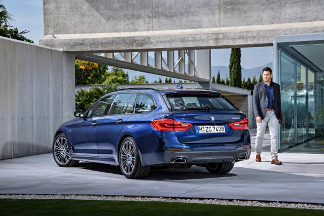 BMW 5系列旅行車將於第三季登台。 圖/BMW提供