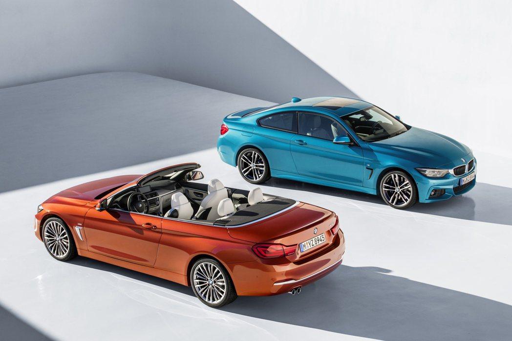 BMW 4系列Gran Coupe、BMW 4系列Coupe、BMW 4系列Convertible也預計將於今年5月改款上市。 圖/BMW提供