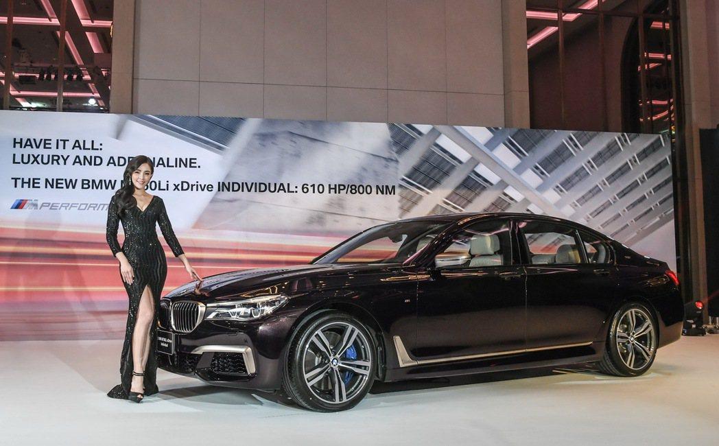 BMW M760Li xDrive Individual震撼上市。 圖/汎德提供