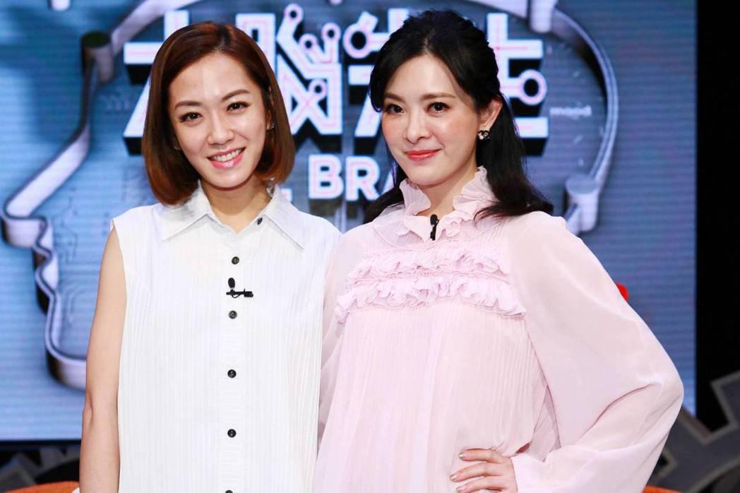 楊千霈(左)和劉真都有自虐傾向。圖/公視提供
