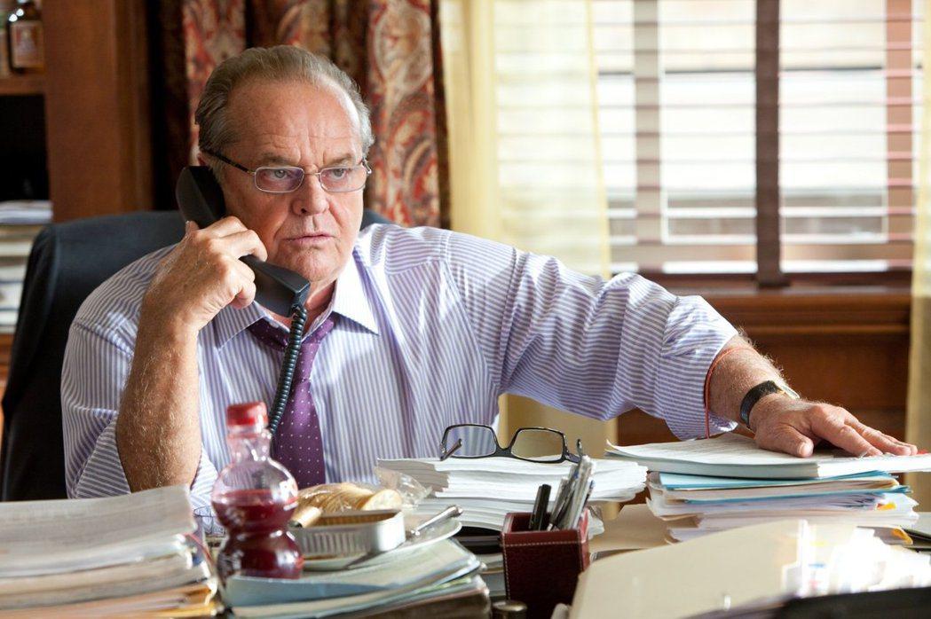 傑克尼柯遜自「愛在心裡怎知道」後,數年未再拍戲。圖/摘自imdb
