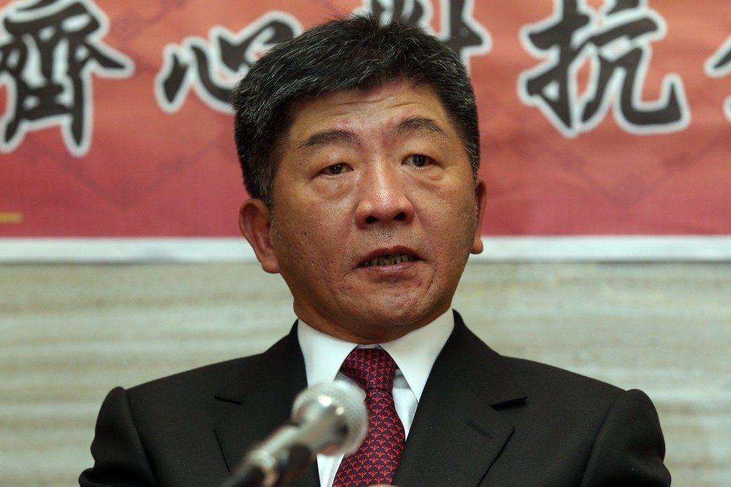 新任衛福部長陳時中今重申醫療是服務業之說。本報系資料照