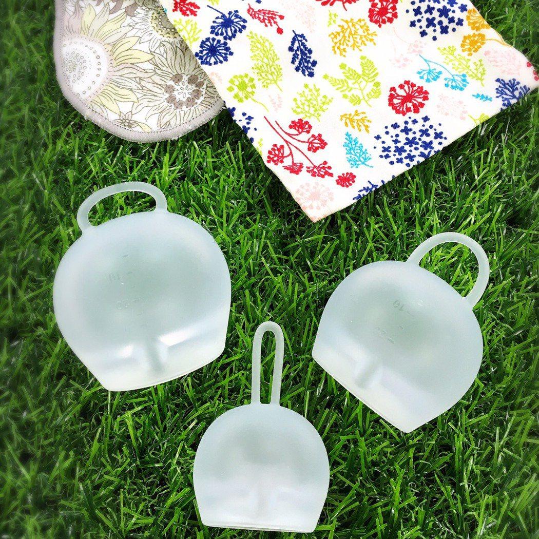 女性生理用品「月亮杯」7日合法通過,將在月中上市。圖/凡妮莎提供