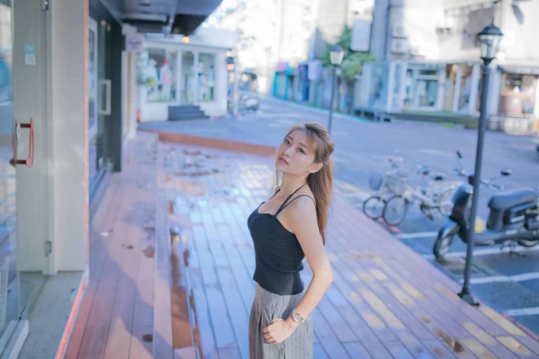 正妹祈錦鈅。 圖/擷自祈錦鈅臉書