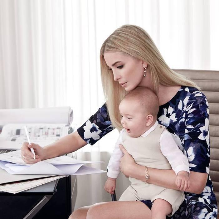 雖然伊凡卡川普是家族中形象最正面的一個,但事業還是難免受到總統父親的牽連。圖/摘...