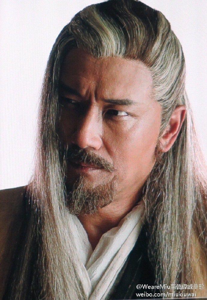 苗僑偉在最新版電視劇「射雕英雄傳」扮演東邪黃藥師。圖/取自微博
