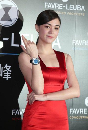 Favre-Leuba域峰表280週年傳承創新全球發表台灣上市記者會,藝人張榕容出席擔任嘉賓。