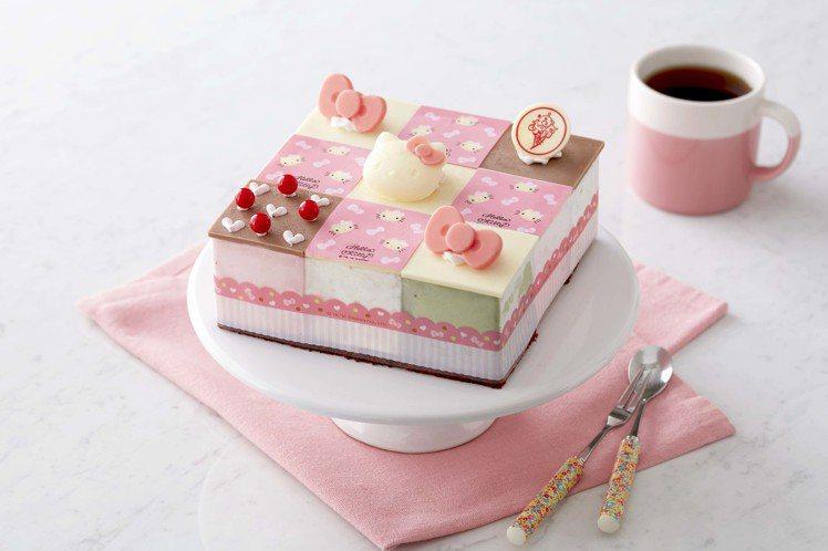 Hello Kitty粉紅派對,售價1380元。圖/COLD STONE提供