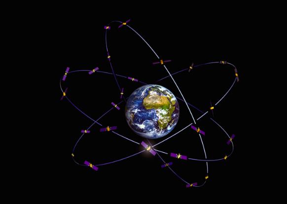 北斗衛星今年將可大致完成全球布局進度。(香港文匯網照片)